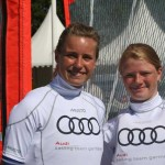 Leonie Meyer/ Hannah Schmitz: Quelle Audi Sailing Team Germany