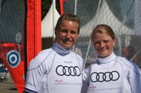 Leonie Meyer/ Hannah Schmitz: Quelle Audi Sailing Team Germany