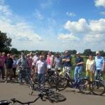 SCD-Fahrradtour im Jahr 2014