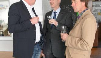 Der Vorstand im Gespräch mit dem Kreisrat Wolfgang van Lessen