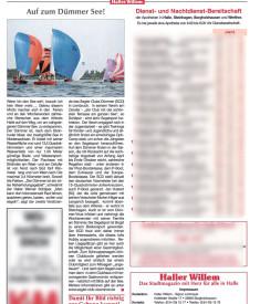 Bericht Haller Willem