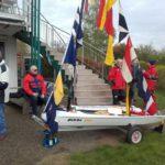 """Taufe unserer ersten Jugendboots vom Typ Open Bic – """"Biggi One"""""""