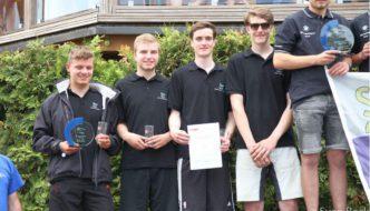 DAs SCD Team Leo Harnisch, Johannes Bruns, Mathias Lukosch und Eike Lauszus