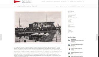 SVN Website - Bericht zum Jubiläum